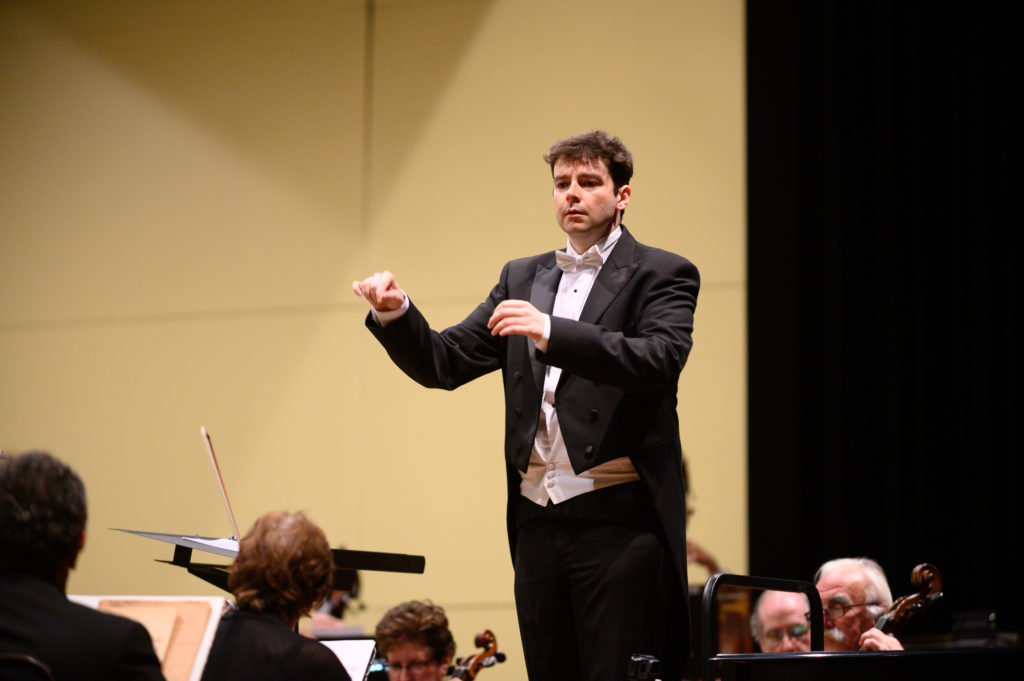 Maestro Geoffrey Pope guest conducts the Beach Cities Symphony