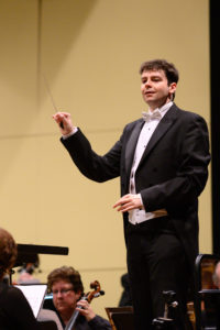 Dr, Pope guest conducts the Beach Cities Symphony Orchestra