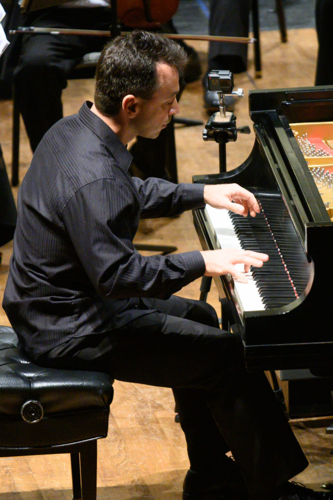 Piano Soloist, Georji Slavchev performs at BCSO November 2019 Concert