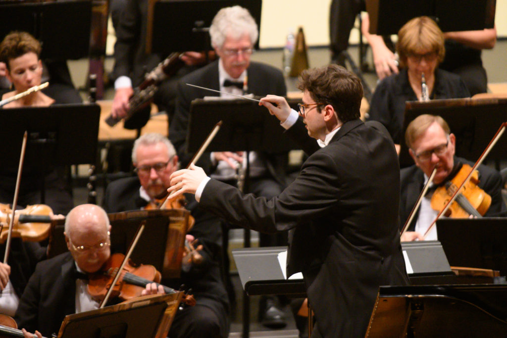 Maestro Pope guest conducts the BCSO November 2019 Concert.