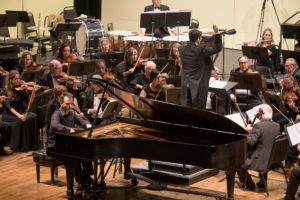 Pianist Georji Slavchev solos, Maestro Geoffrey Pope Conducts