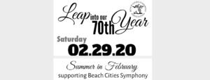 Summer in February BCSO 70th Gala