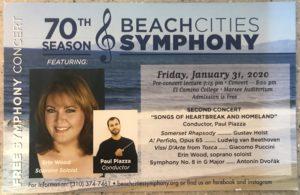 BCSO Jan 2020 Concert